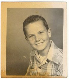 Donald as a young boy