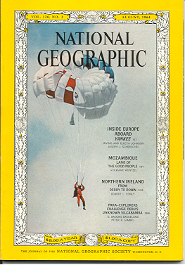 National Geographic Cover, August 1964